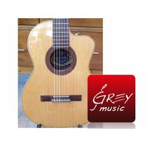 Guitarra Criolla Romantica D Pro C/corte Y Eq Color Natural