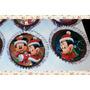 Lamina Comestible Navidad Disney Cupcake Cookie Torta Muffin