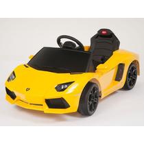 Increíble Carrito Eléctrico Lamborghini Aventador Amarillo