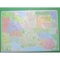 Mapa Mural Capital Federal (caba) Y Gba