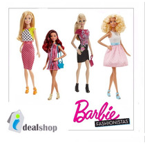 Muñecas Barbie Fashionistas Doll Original