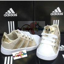 Adidas Super Star Para Niños Tallas 21 Al 26