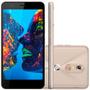Celular Smartphone Müv Pro Quantum Mirage Gold Dourado 4g