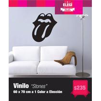 Vinilo Decorativo - Stones - Rock En Tus Paredes