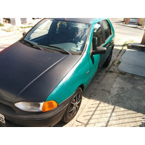 Fiat Palio 1.0 Cor Verde 4 Portas 1997 Barato