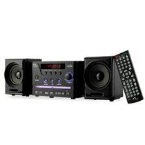 Mini-system 4 Em 1 Com Dvd Usb Rádio Fm Karaokê - Sp141 Novo