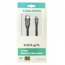 Kelyx Cable Hdmi-micro Sup-0401a 1.5 Mts 3d 4k - Olivos