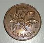 Canada Moneda 1 Centavo Cent Año 1973 *068