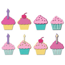Set De 9 Troqueles Sizzix Cupcake Ideal Scrapbooking!