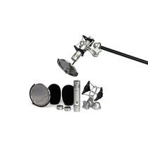 Kit De Microfone Condensador Samson - Cl2