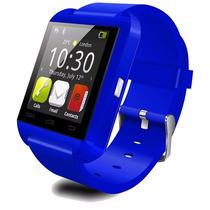 Smart Watch U8 Reloj Inteligente Tactil Bluetooth Azul