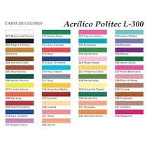 Pintura Acrílica Politec 100 Ml Varios Colores