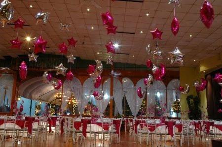 Decoracion con globos paq completo desde mil en for Decoracion con globos para xv anos
