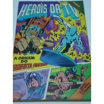 Heróis Da Tv Nº 4 De 1979 Abril Gibi Raro Antigo Quase Novo