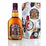 Chivas Regal 12 Anos Whisky 1 Litro - Edição Caixa De Lata.