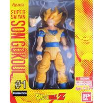 Figura Dragon Ball Z Muñeco Intercambiable Goku Juguete Niñ