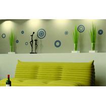 Vinilos Decorativos Para Pared Vidrieras Murales Circulos