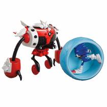 Sonic Boom - Sonic Vs. Burnbot - Articulado - Tomy