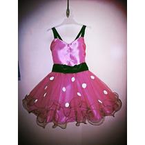 Vestido Disfraz Minnie Bebé