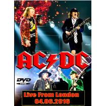 Dvd - Ac/dc Ao Vivo Em Londres 2016 (guns N