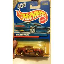 Hot Wheels De Coleccion 1999 Mustang 99 Burbuja Dañada