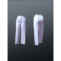 Pantalón Para Dama Enfermeria Clinico Escolar Laboratorio