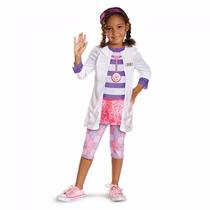 Fantasia Da Doutora Brinquedos Clássica - Tam M (4 A 6 Anos