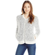 Calvin Klein Jeans Chamarra Bomber Mujer Dama Sweater