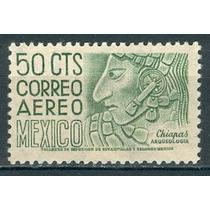 Sc C192 Año 1950 Chiapas Bonampak Bajo Relieve De Una Estela