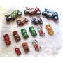 Lote Autitos Cars Y Motos Con Pull Back (14) Impecables