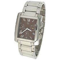 Guess Collection Cronógrafo Plata Banda Reloj Para Hombre