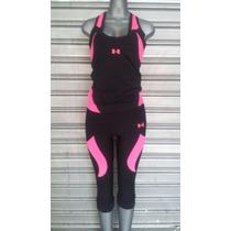 Mono Corto Y Camisa Olímpica Conjunto Para El Gym En Neon