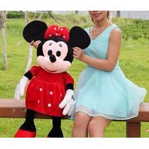 Boneco Pelucia Minnie Mouse Disney 70cm Gigante Antialergico
