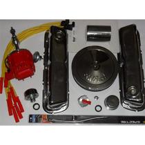 Kit Igniçao + Cromado Motor 302 V8 Mustang Hot Rods Maverick