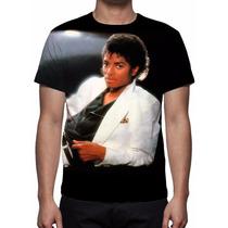 Camisa, Camiseta Michael Jackson - Thriller - Estampa Total
