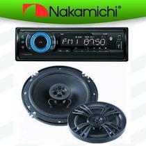 Autoestereo Bluetooth Nakamichi Na87 Mp3 Usb Sd Bocinas 6.5