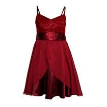 Vestido De Nena De Fiesta De Gasa, Brishka N-0052