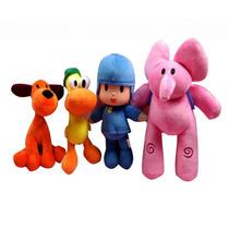 Pocoyo Y Sus 2 Amigos Originales Bandai Con Envio !!