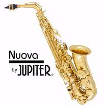 Sax Alto Nuova By Jupter Em Eb Com Estojo Top Mod. Nas3gs