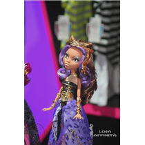 Boneca Monster High Clawdeen Wolf - 13 Wishes