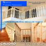 Balaustre Tornería Columna Pasamano Madera Baranda Escaleras
