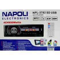 Stereo Napoli Auto Audio Usb Aux Sd Mp3 Am Fm Control Nhshop