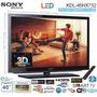 Tv Led Smart 3d Sony 46 + 2 Lentes 3d - Espectacular-