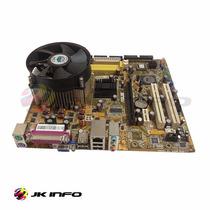 Placa Mãe 775 Asus P5vd2-mx Cel/p4/dual Core 2 Duo + Cooler