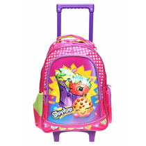 Mochilac/ Carro Shopkins Original Atm 2016