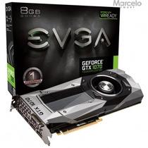 Placa Vga 8gb Evga Geforce Gtx 1070 Founders Edition Pci-e
