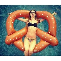Inflable De Pretzel Gigante Para Alberca Marca Swimline