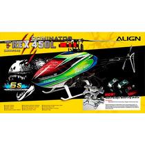 Helicóptero Align T-rex 450l Dominator Especial 6s Rh45e11xt