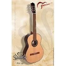 Guitarra Criolla Fonseca Tapa De Pino 31p C/funda Acolchada