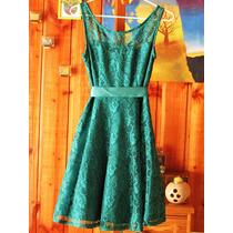 Vestido De Gala Color Menta